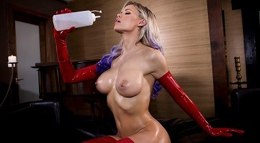 Brazzers hd - Baby Got Boobs - Lovely In Latex with Jessa Rhodes & Keiran Lee 380x210