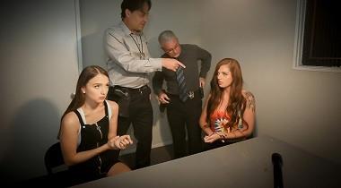 Daughterswap - Scarlett Mae & Lzzy Lush in interrogation penetration part 1 380x210