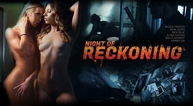 Digitalplaygrund HD - Night Of Reckoning with Nicole Aniston, Anya Olsen, Elena Koshka & Molly Stewart 380x210