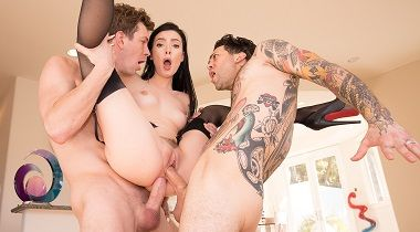 Julesjordan - Marley Brinx Receives An Intense DP 380x210