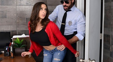 Brazzers Exxtra - Mall Cop Cock by Ashley Adams & Charles Dera 380x210