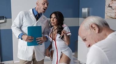 Brazzers Scene Doctor Adventures - Get It Up Grandpa Lela Star & Johnny Sins 380x210