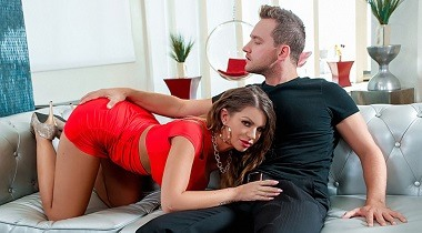 Realitykings hd - Graphic In Traffic by Brooklyn Chase & Van Wylde - Monster Curves 380x210