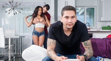 Realitykings.com - Button Mashing with Autumn Falls & Duncan Saint - Sneaky Sex 380x210